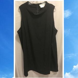 Size 24/26 Ulla Popken Basic Black Dress